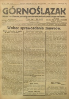 Górnoślązak, 1924, R. 23, Nr. 87