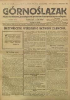 Górnoślązak, 1924, R. 23, Nr. 92