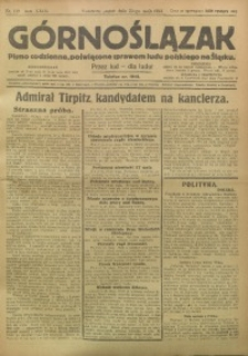 Górnoślązak, 1924, R. 23, Nr. 118