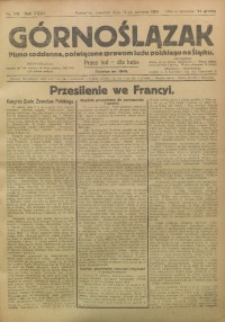 Górnoślązak, 1924, R. 23, Nr. 133