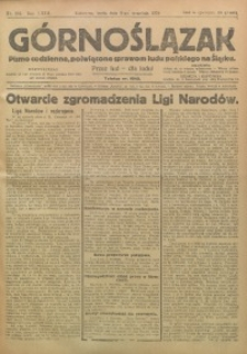Górnoślązak, 1924, R. 23, Nr. 203