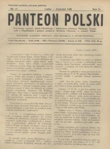 Panteon Polski, 1929, R. 6, nr 55