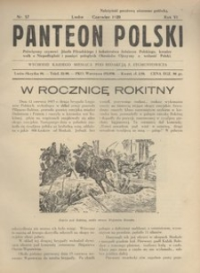 Panteon Polski, 1929, R. 6, nr 57