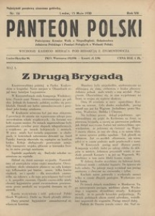 Panteon Polski, 1930, R. 7, nr 68