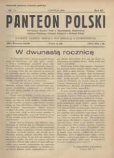 Panteon Polski, 1930, R. 7, nr 73
