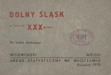 Dolny Śląsk w okresie XXX-lecia