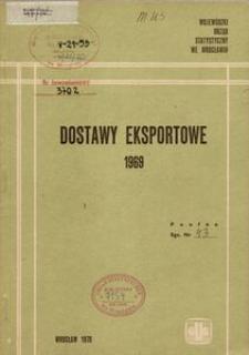 Dostawy eksportowe 1969 [Województwo]