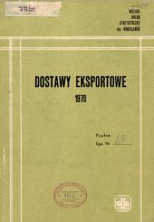 Dostawy eksportowe 1970 [Wrocław]