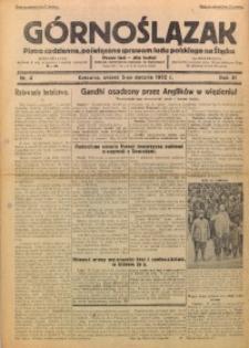 Górnoślązak, 1932, R. 31, Nr. 4