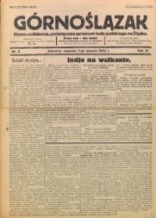 Górnoślązak, 1932, R. 31, Nr. 5