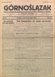 Górnoślązak, 1932, R. 31, Nr. 33