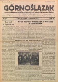 Górnoślązak, 1932, R. 31, Nr. 34