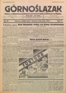 Górnoślązak, 1932, R. 31, Nr. 60