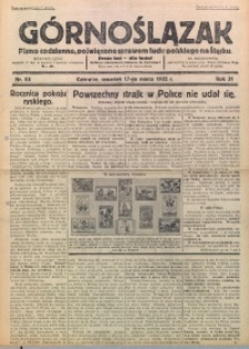 Górnoślązak, 1932, R. 31, Nr. 64