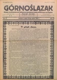 Górnoślązak, 1932, R. 31, Nr. 71