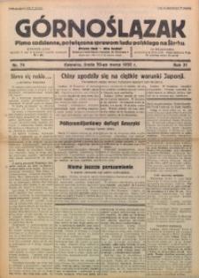 Górnoślązak, 1932, R. 31, Nr. 74