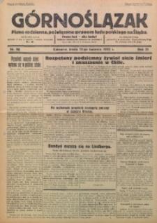 Górnoślązak, 1932, R. 31, Nr. 86