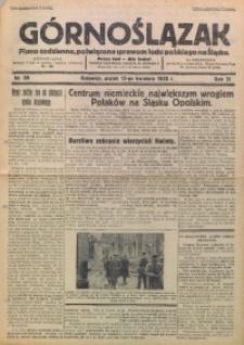 Górnoślązak, 1932, R. 31, Nr. 88