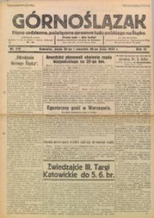 Górnoślązak, 1932, R. 31, Nr. 119