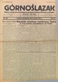 Górnoślązak, 1932, R. 31, Nr. 140