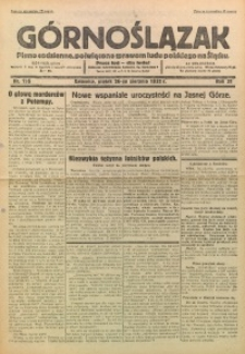 Górnoślązak, 1932, R. 31, Nr. 196
