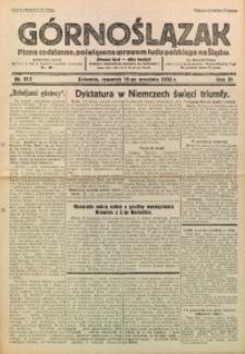 Górnoślązak, 1932, R. 31, Nr. 213