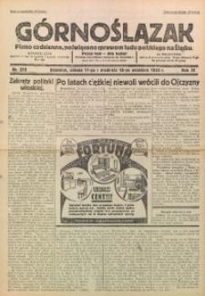 Górnoślązak, 1932, R. 31, Nr. 215