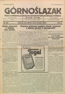 Górnoślązak, 1932, R. 31, Nr. 222