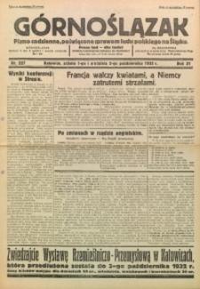 Górnoślązak, 1932, R. 31, Nr. 227