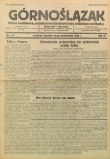 Górnoślązak, 1932, R. 31, Nr. 237