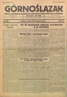 Górnoślązak, 1932, R. 31, Nr. 293