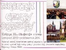 Kronika gminy Bojszowy. Tom XL. Obejmuje okres: listopad 2013 - październik 2014