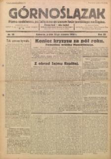 Górnoślązak, 1933, R. 32, Nr. 10