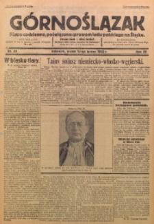 Górnoślązak, 1933, R. 32, Nr. 33
