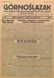 Górnoślązak, 1933, R. 32, Nr. 40