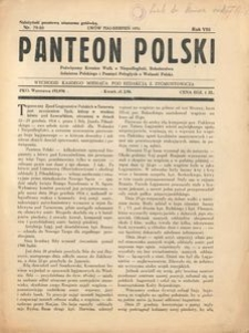 Panteon Polski, 1931, R. 8, nr 79/80