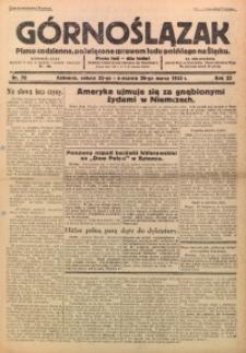 Górnoślązak, 1933, R. 32, Nr. 70