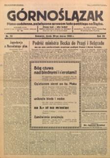 Górnoślązak, 1933, R. 32, Nr. 73