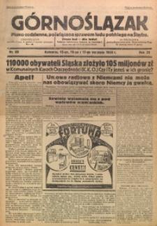Górnoślązak, 1933, R. 32, Nr. 88