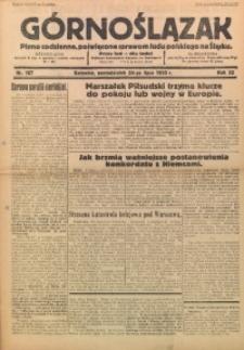 Górnoślązak, 1933, R. 32, Nr. 167