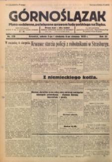 Górnoślązak, 1933, R. 32, Nr. 178