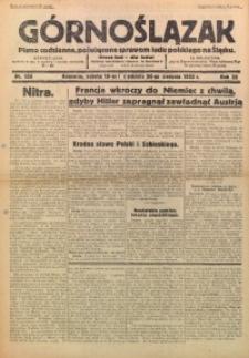 Górnoślązak, 1933, R. 32, Nr. 189