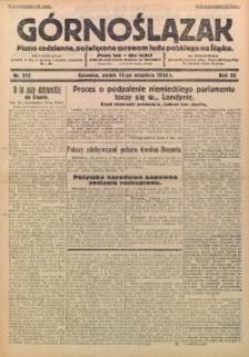 Górnoślązak, 1933, R. 32, Nr. 212