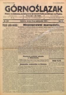 Górnoślązak, 1933, R. 32, Nr. 239