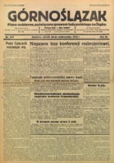 Górnoślązak, 1933, R. 32, Nr. 245