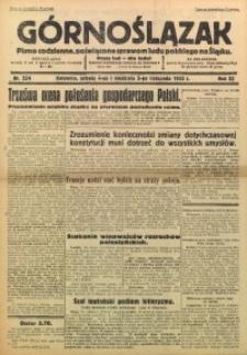 Górnoślązak, 1933, R. 32, Nr. 254