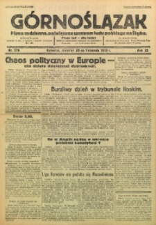 Górnoślązak, 1933, R. 32, Nr. 276