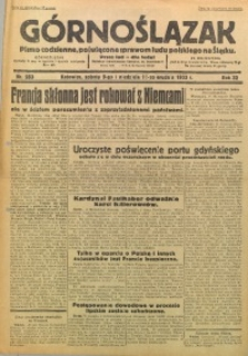 Górnoślązak, 1933, R. 32, Nr. 283