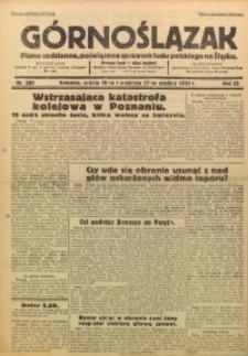 Górnoślązak, 1933, R. 32, Nr. 289