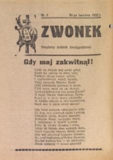 Dzwonek, 1932, [R. 30], nr 8